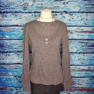 Adrienne Vittadini 100% 2-Ply Cashmere Sweater LG